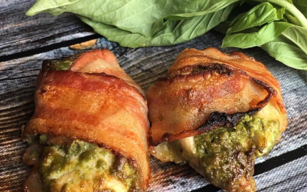 Pesto Bacon Chicken