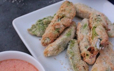 Avocado Fries with Chipotle Sauce