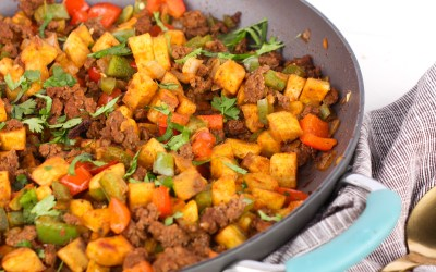 Plantain Taco Hash