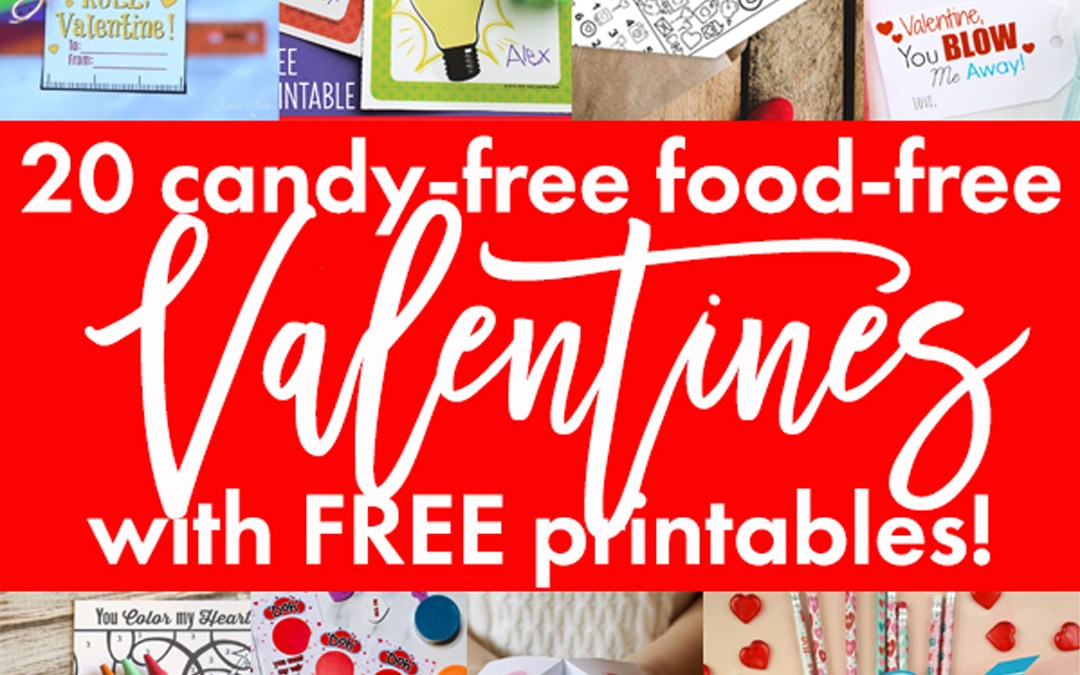 Candy-free Food-free Valentines Ideas
