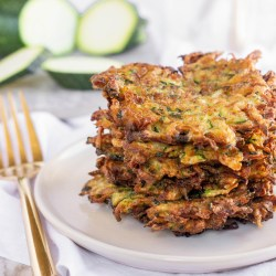 Pick Your Veggie Whole30 Fritter - Paleo, keto, gluten-free, dairy-free. A delicious crispy veggie side dish that freezes great and is kid-friendly!