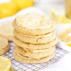 Paleo Lemon Sugar Cookies - Gluten-free, dairy-free, with nut-free option