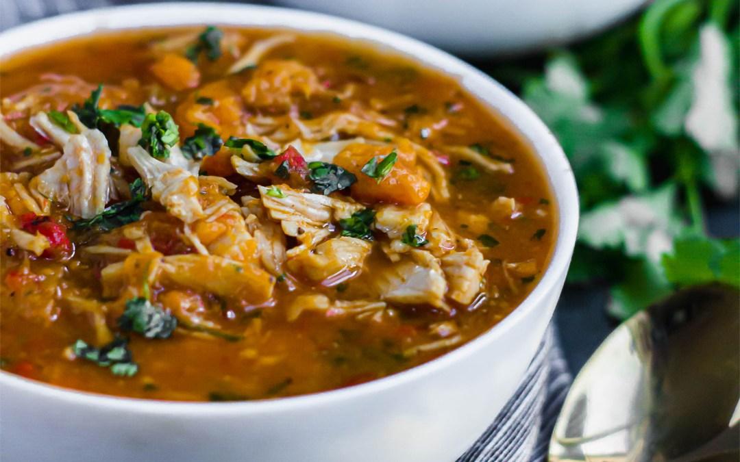 Salsa Chicken Stew (Crockpot/Instapot)