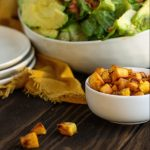 Whole30 Plantain Croutons - Paleo, Gluten-free, Dairy-free, 3-ingredients. Easy!