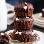 Paleo Chocolate White Chocolate Muffins - Gluten-free, dairy-free, with nut-free option.