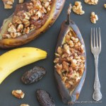 date and walnut bananas