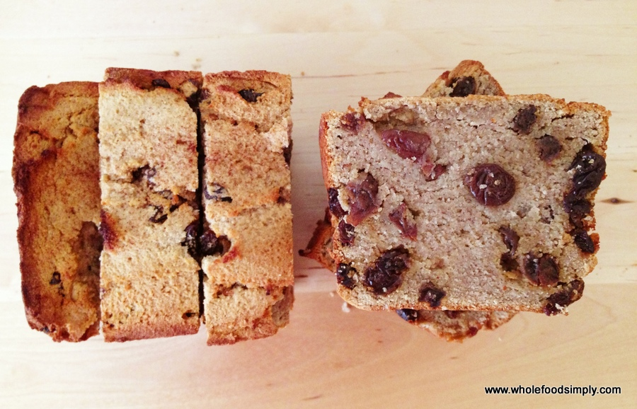 Paleo Raisin Bread