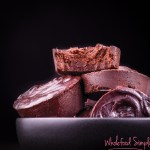 3 Ingredient Chocolate Fudge