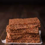 Chocolate and Goji Energy Bars