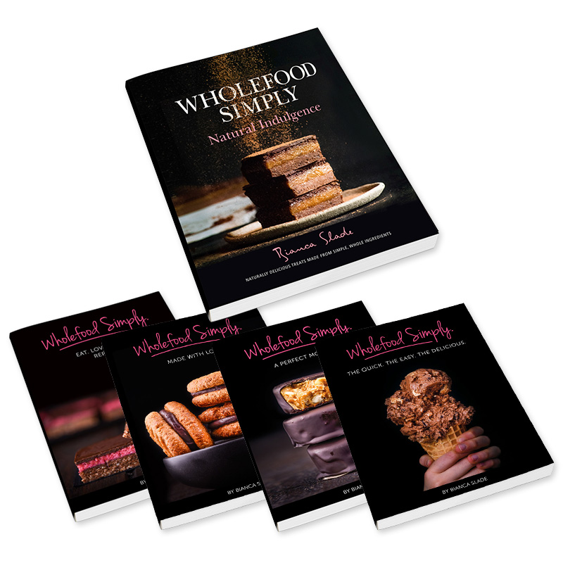 Wholefood Simply Cookbooks - The Brand New Bundle Pack