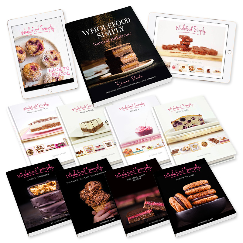 Wholefood Simply Cookbooks - The Complete Collection