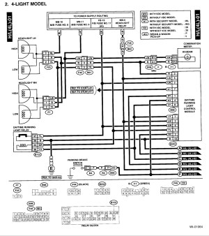 2001 Subaru Outback Wiring Diagram Sample