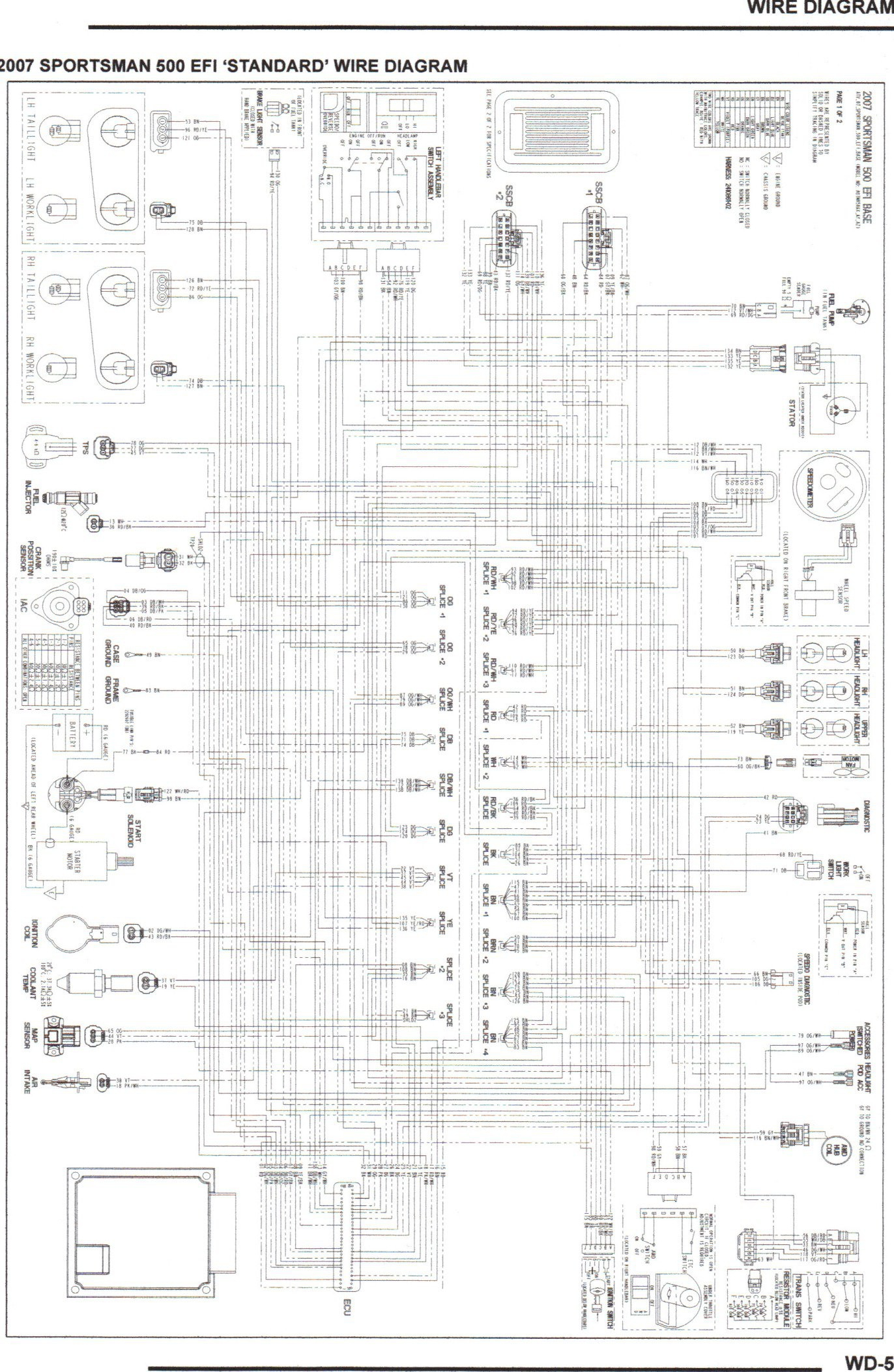 Polaris Ranger 500 Wiring Diagram Sample