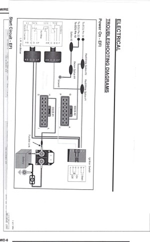 2002 POLARIS XCSP 600 WIRING DIAGRAM  Auto Electrical