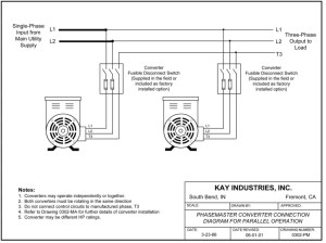 3 Phase Rotary Converter Wiring Diagram Download