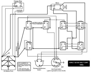 36 Volt Ez Go Golf Cart Wiring Diagram Sample