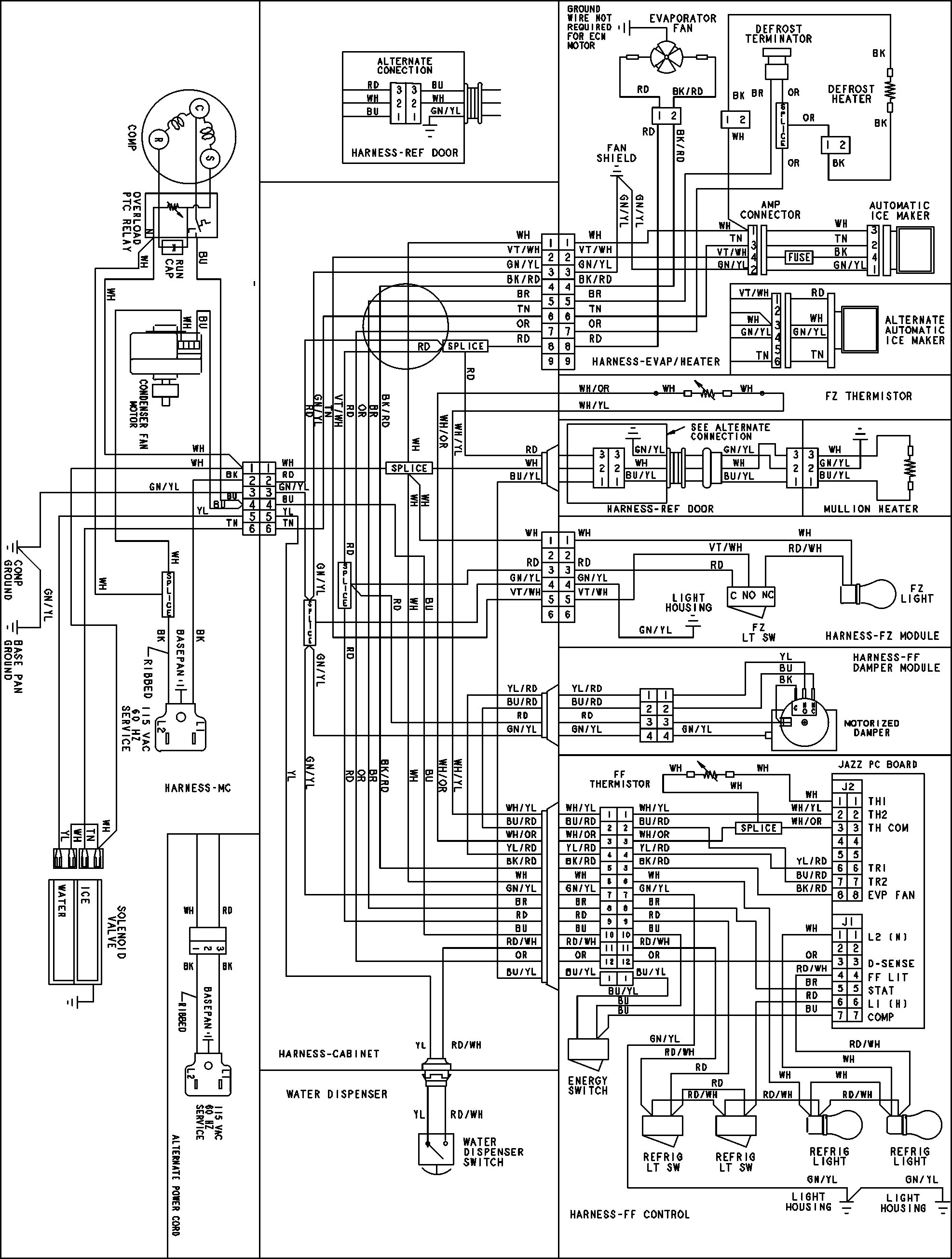 Ddec V Ecm Wiring | Avecdd Unix Jake Ke Wiring Diagram on