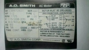 Ao Smith Electric Motor Wiring Diagram Gallery