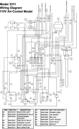 Beverage Air Freezer Wiring Diagram Sample
