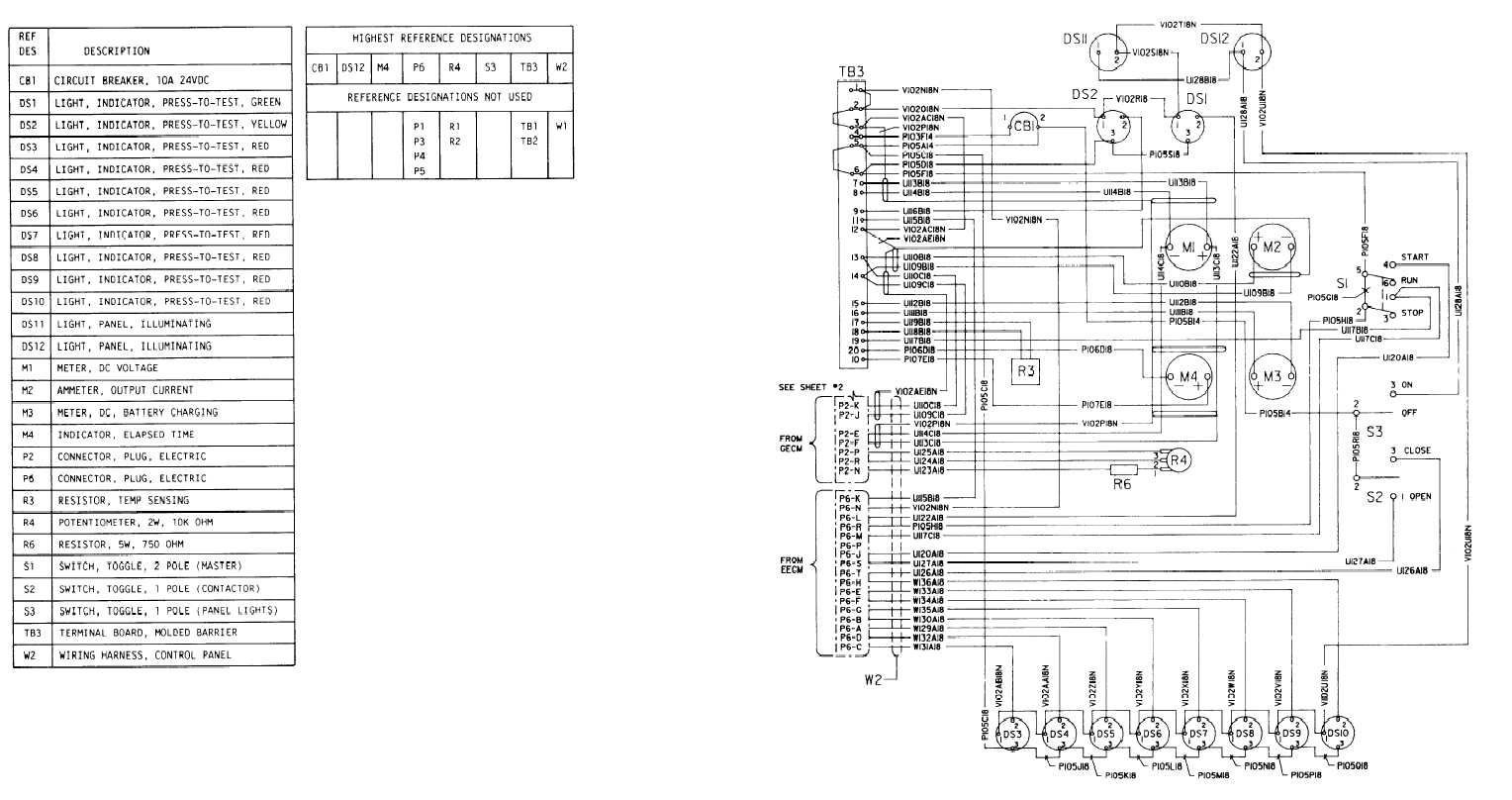Control Panel Wiring Diagram Gallery