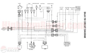 Coolster 125cc atv Wiring Diagram Collection