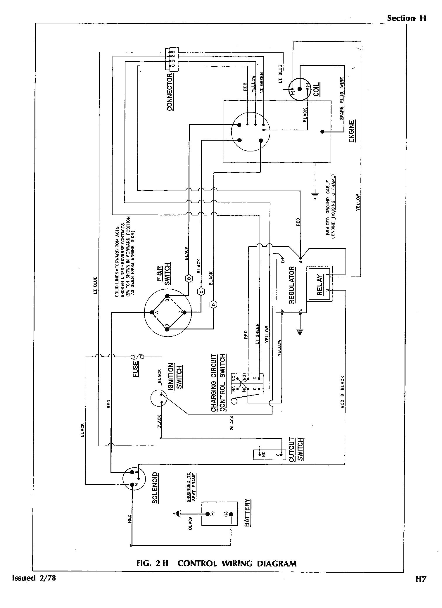 G16 Golf Cart Wiring Diagram