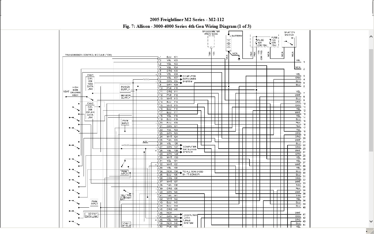 Freightliner Mt45 Fuse Box - All Diagram Schematics