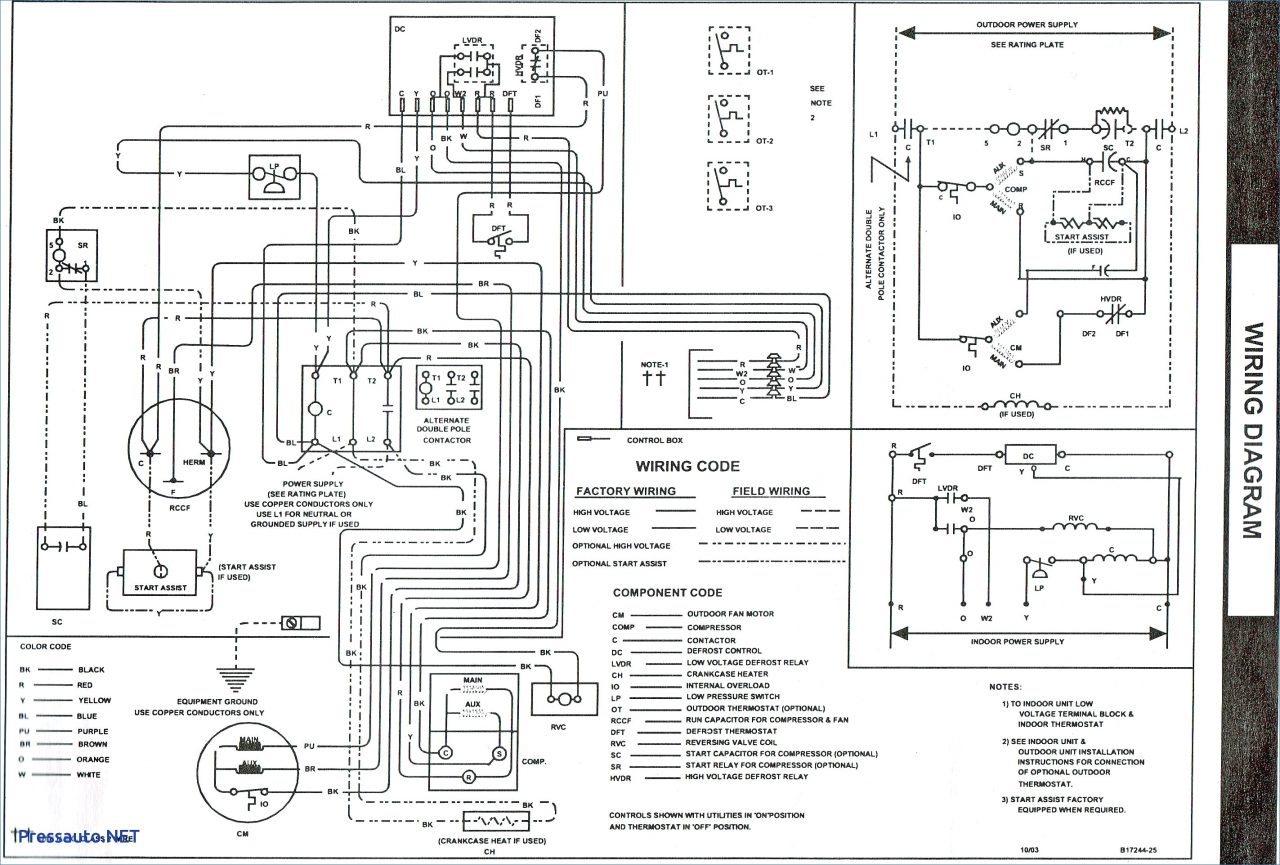 goodman pump heat diagram wiring gph1324h21ac