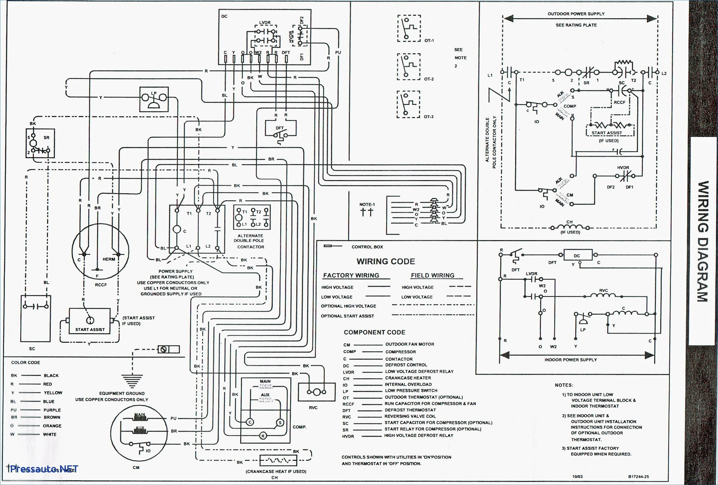 Older York Air Handler Wiring Diagram - Schematics Online on