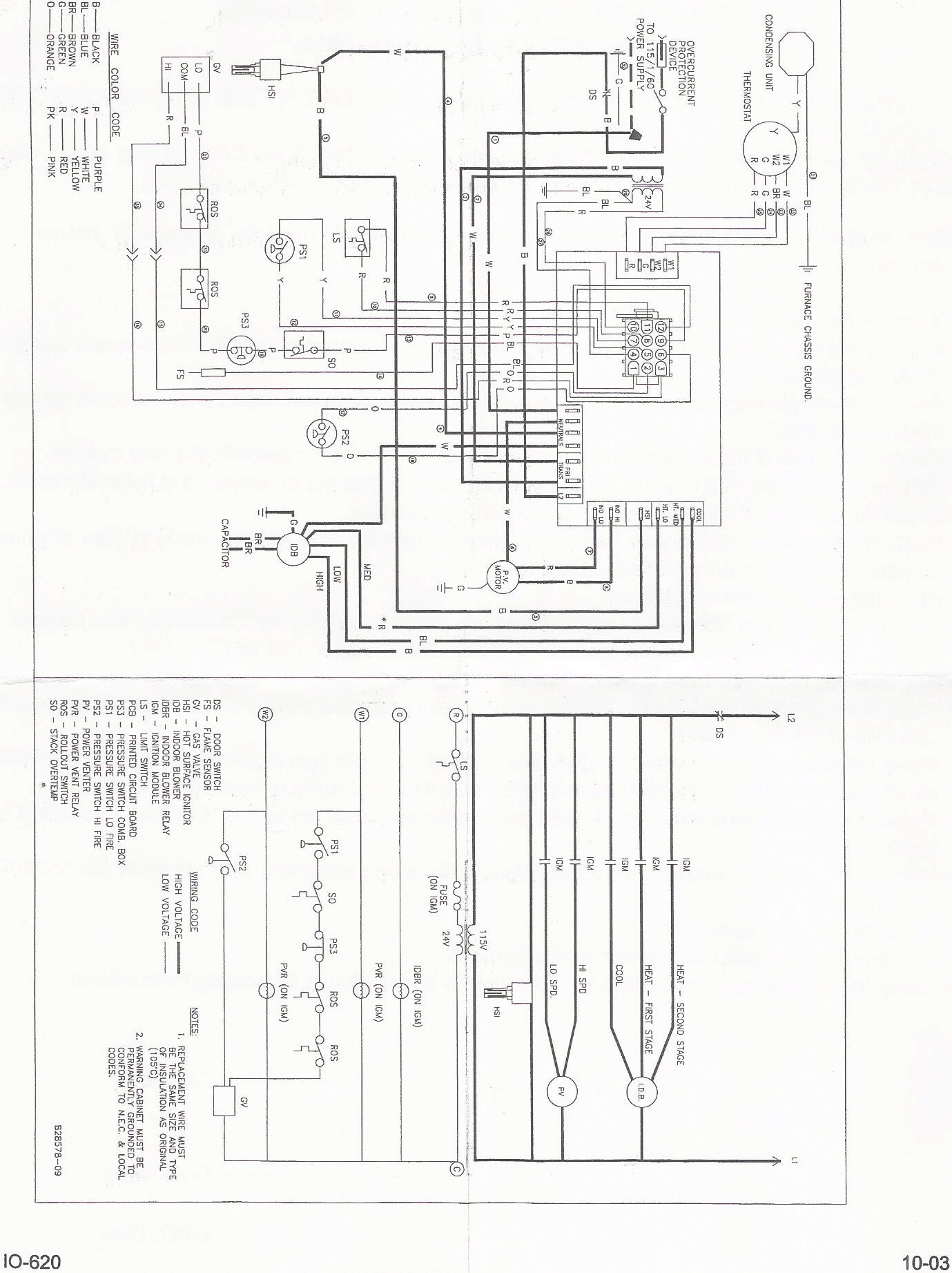 Goodman Heat Pump Package Unit Wiring Diagram Sample