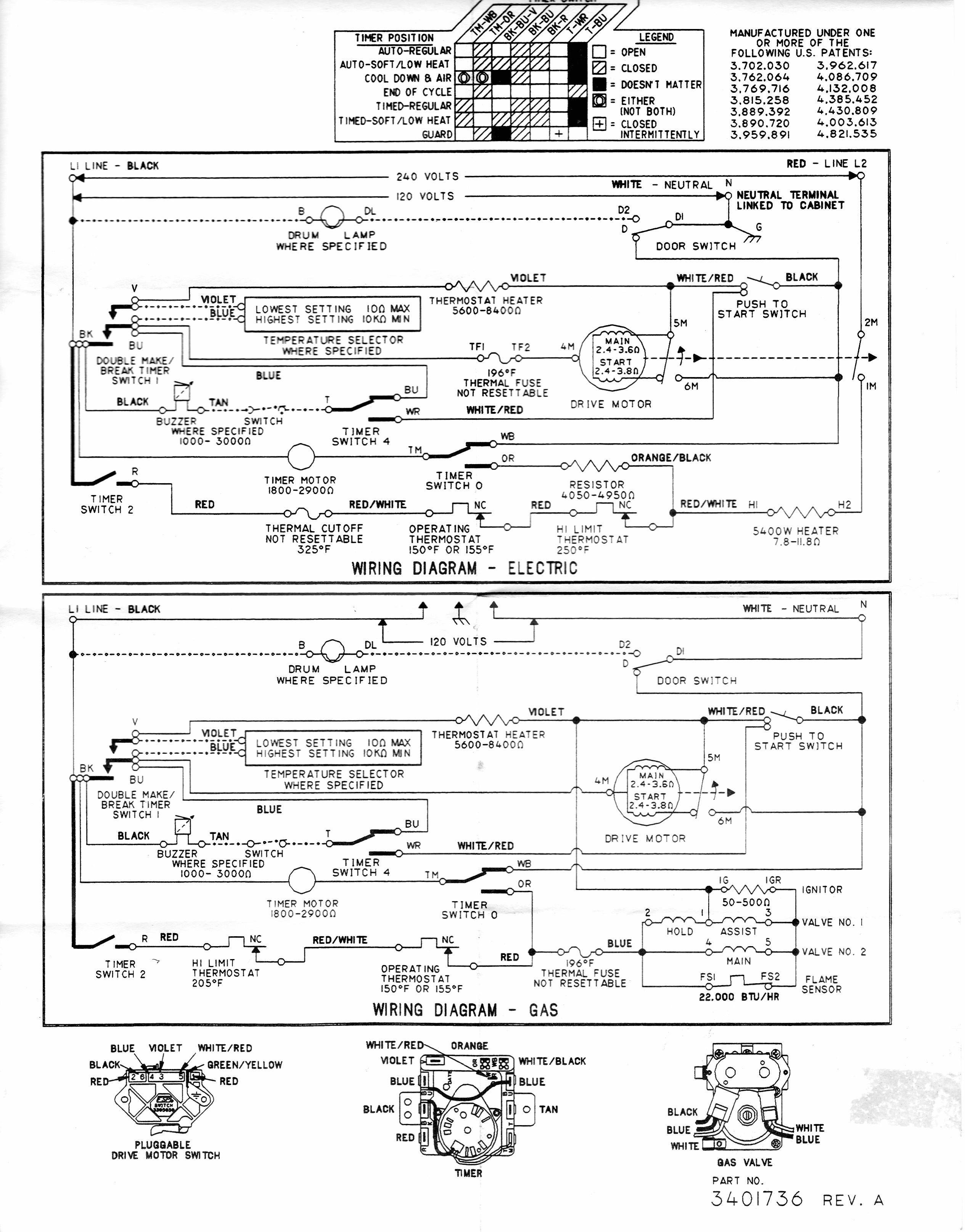 Amana Dryer Wire Diagram