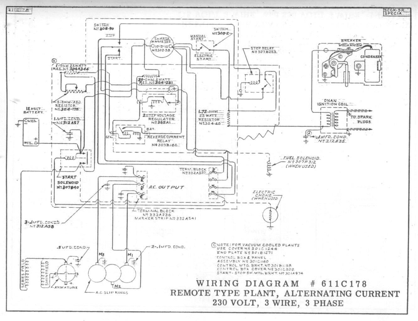 Remote Start Wiring Diagram For Generator