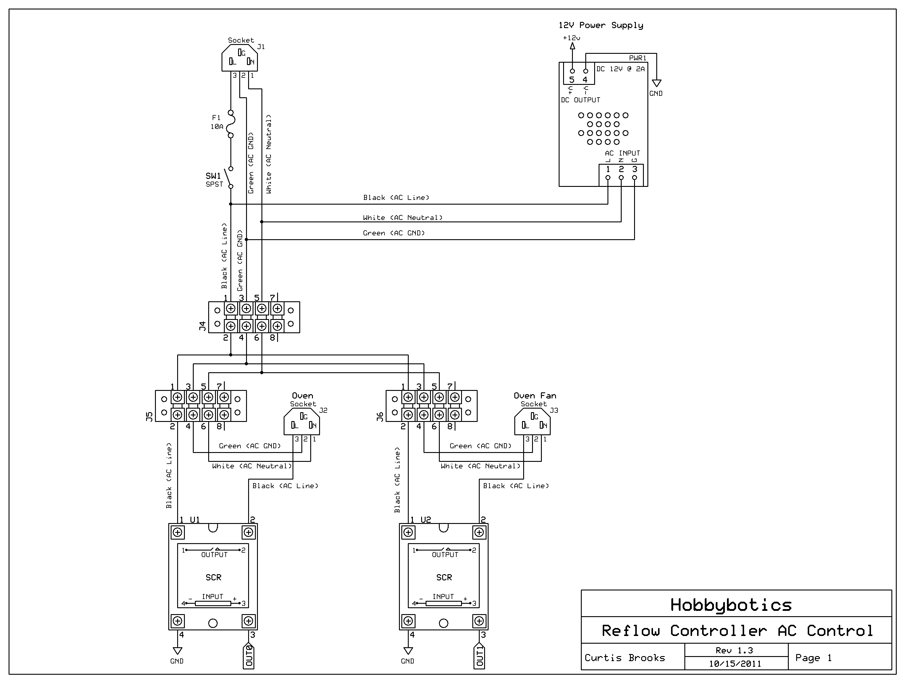 Temperature Controller Wiring Diagram Sample