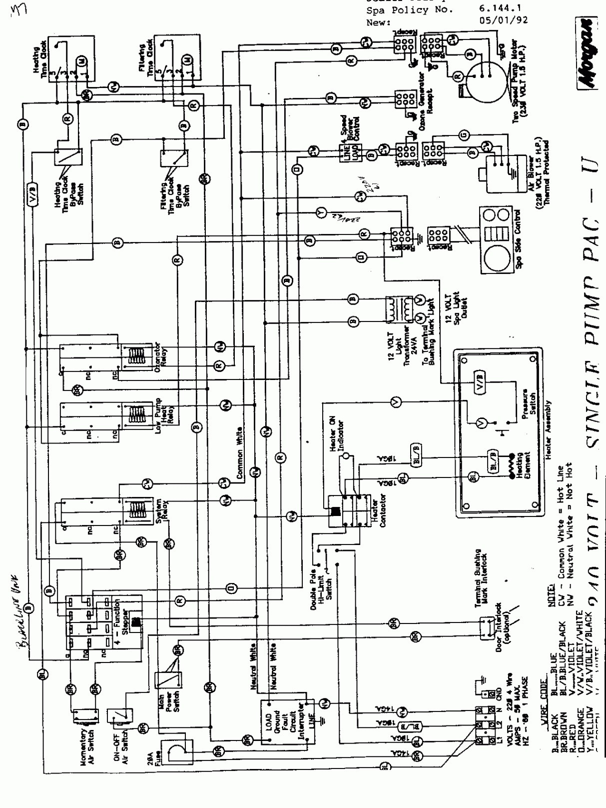 Vita Spa L200 Wiring Diagram Gallery