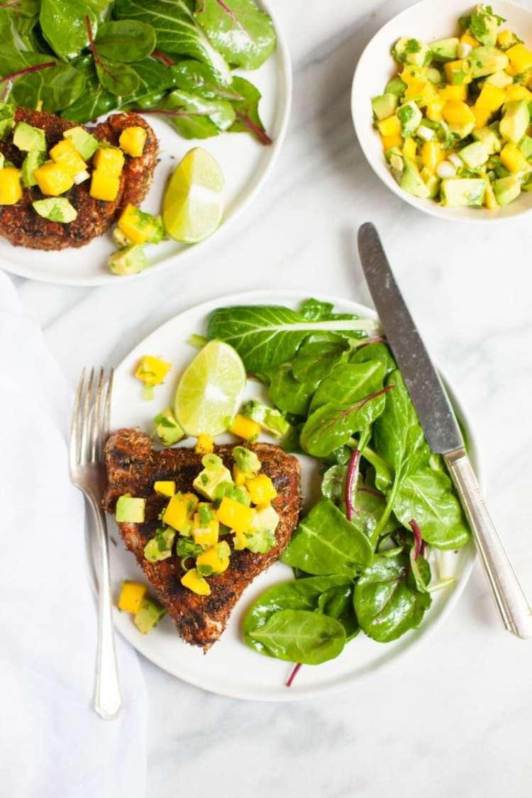 Tuna Recipes | Tuna | Healthy Tuna Recipes | Tuna Casserole | Tuna Steaks | Enjoy 8 different recipes of tuna from tuna steaks to tuna casserole to tuna salads! SixCleverSisters.com