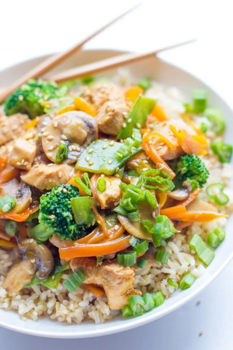 Image result for pic of chicken stir fry