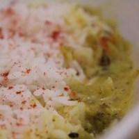 Broccoli in a spiced yogurt gravy (Broccoli Kadhi)