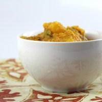 Sweet Pumpkin in Coconut-Tamarind Gravy (Sihi Kumbalakayi Gojju)