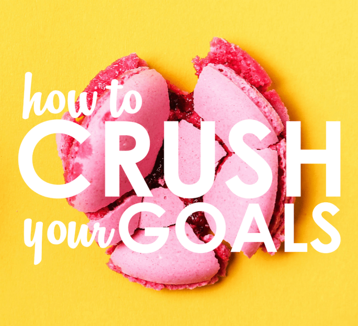 How to create and crush your goals intentions resolutions
