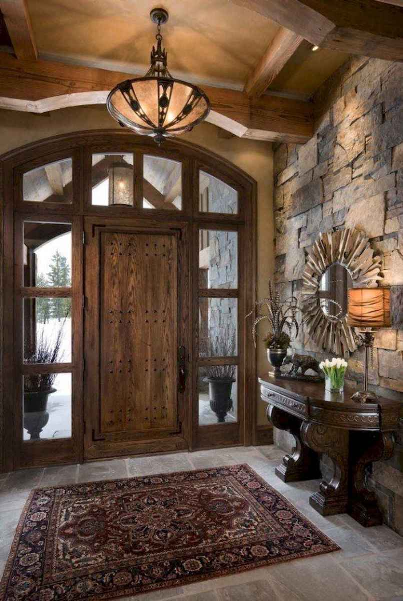 18 stunning rustic entryway decorating ideas