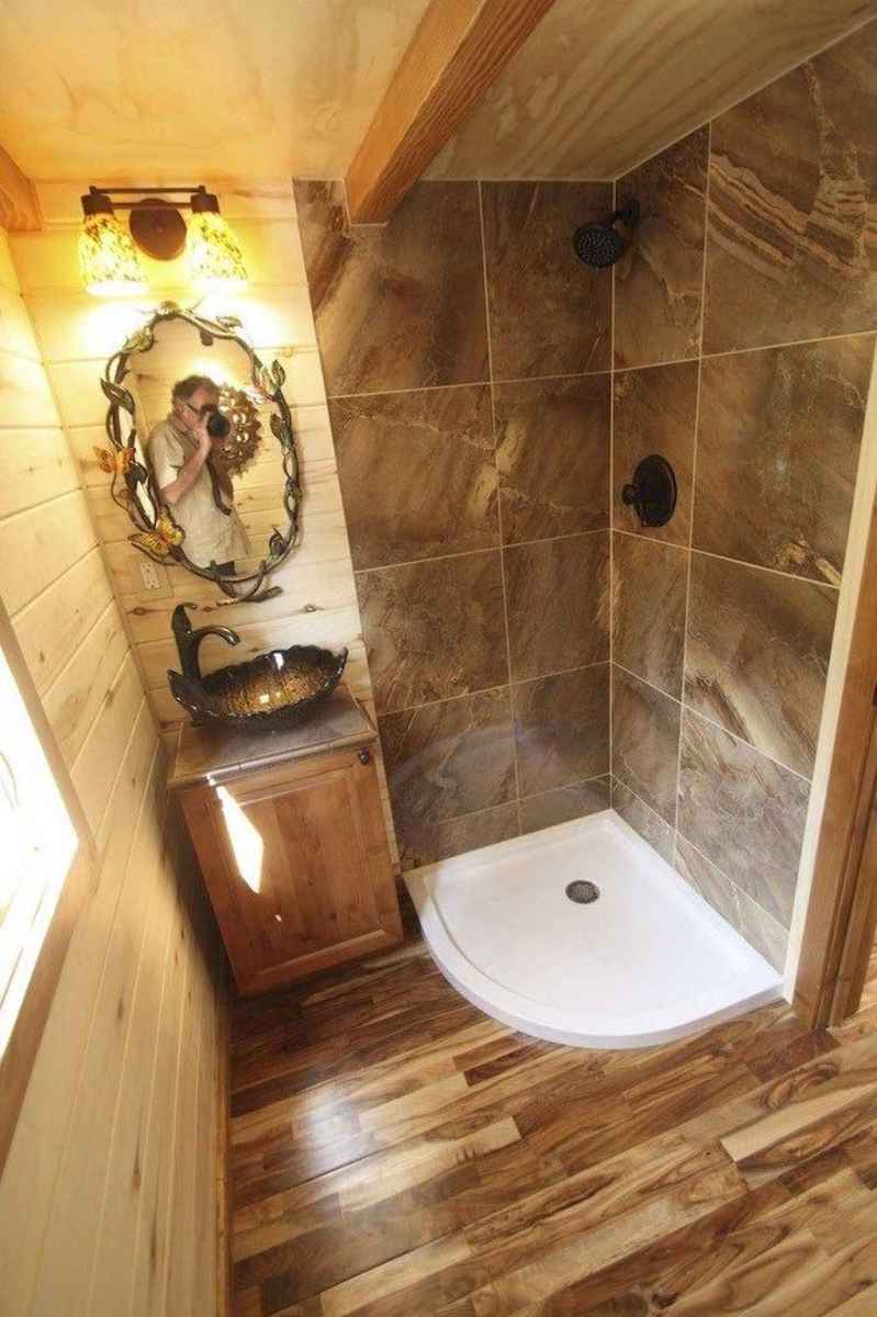 31 cool tiny house bathroom shower with tub ideas