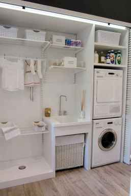 44 cool small laundry room design ideas