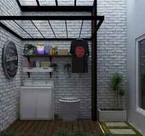 55 cool small laundry room design ideas