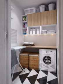 63 cool small laundry room design ideas