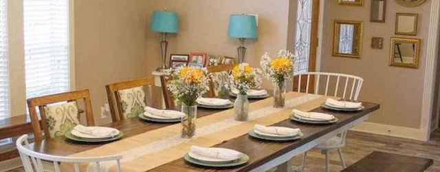 73 gorgeous farmhouse dining room table and decorating ideas