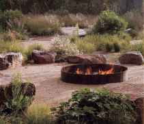 12 easy diy fire pit for backyard landscaping ideas