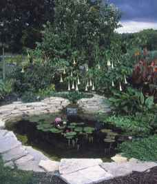 19 awesome backyard ponds and water feature landscaping ideas