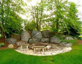 45 easy diy fire pit for backyard landscaping ideas