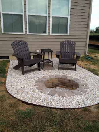 47 easy diy fire pit for backyard landscaping ideas
