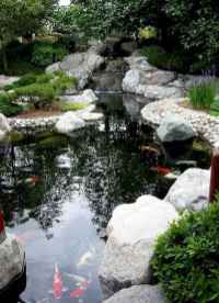 49 awesome backyard ponds and water feature landscaping ideas